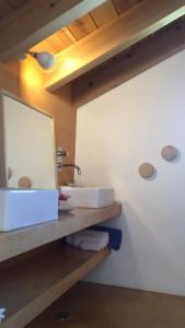 A bathroom at Baía das Caldeirinhas