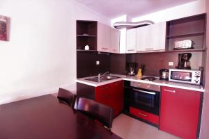 A kitchen or kitchenette at Mountview Lodge Apartments