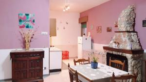 A kitchen or kitchenette at Casa degli Ulivi