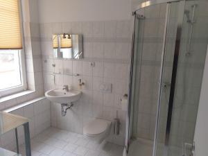 Et badeværelse på Mehrower Hof