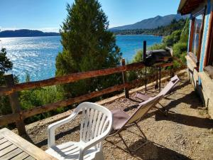 Un balcón o terraza en Murmullos del Lago