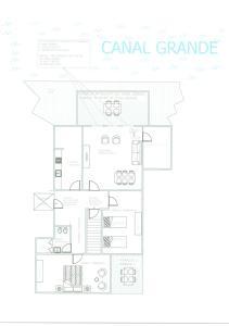 The floor plan of Ve-nice Suite Rialto View RT-12