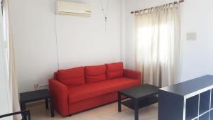 منطقة جلوس في Protaras Sunny Apartment