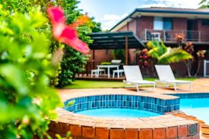 The swimming pool at or close to Coffs Harbour Holiday Apartments
