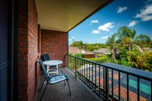 A balcony or terrace at Coffs Harbour Holiday Apartments