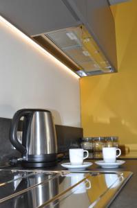 A kitchen or kitchenette at Casa Lu