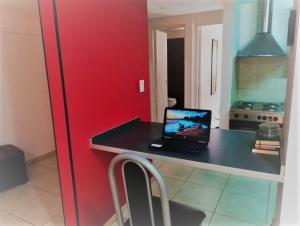 Una televisión o centro de entretenimiento en Departamento Sol Cuyano