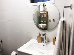 A bathroom at Locals TLV - Yaffo street