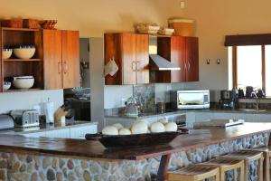 A kitchen or kitchenette at Ribboksfontein Guest Farm