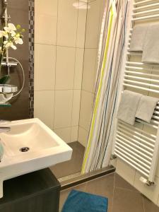 Koupelna v ubytování Villa Heinrich