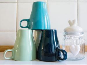 Set per la preparazione di tè e caffè presso Turquoise House