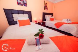 Cama o camas de una habitación en Apartment House Malena