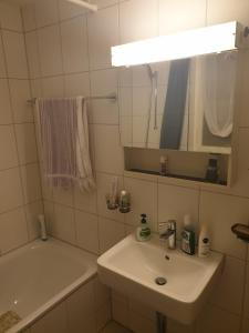A bathroom at Breite Familien Apartment
