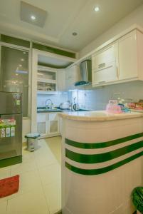 A kitchen or kitchenette at Joie Homestay Old Quarter Hanoi