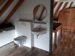 Kylpyhuone majoituspaikassa Aan de Kwakel