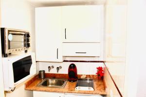 A kitchen or kitchenette at Resitur 532
