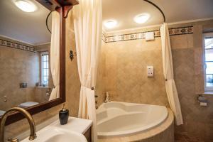 Kopalnica v nastanitvi Luxury Holiday Home Zupan
