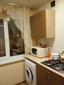 Кухня или мини-кухня в Южно-Моравская ул., 46 Апартаменты