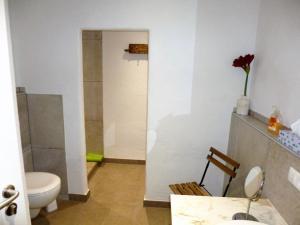 Ein Badezimmer in der Unterkunft Gästehaus Rheinromantik