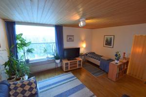TV tai viihdekeskus majoituspaikassa Lankila Apartment