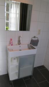 Ein Badezimmer in der Unterkunft Apartment Brauner Hirsch