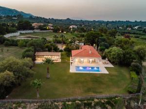 A bird's-eye view of Zante Vista Villas
