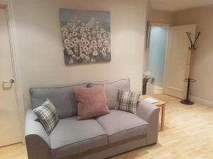 A seating area at Molesworthcourt Suites