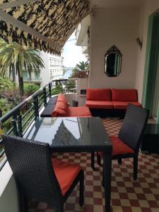 A balcony or terrace at Capitole Bleu