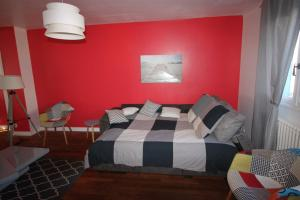 Un ou plusieurs lits dans un hébergement de l'établissement Maison d'Arsonval, proche Palais des congrès, Auditorium