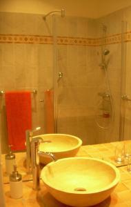 A bathroom at Capitole Bleu