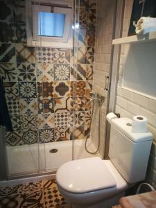 Ein Badezimmer in der Unterkunft Coqueto estudio en la playa