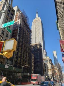 Broadway Suite NY - Family Two Bedroom с высоты птичьего полета
