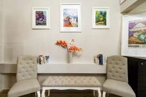 A seating area at ClickTheFlat Palace Of Culture Art Apartment