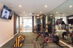 The fitness center and/or fitness facilities at SD Premium Chic Studio
