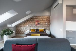 Lova arba lovos apgyvendinimo įstaigoje Somnia Apartments