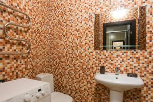 A bathroom at Апартаменты на Гоголя 26