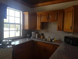 A kitchen or kitchenette at Hill Top Suites