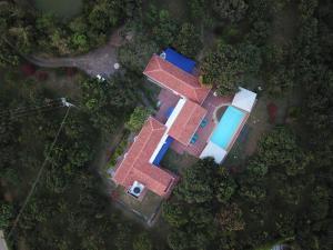 Casa de campo Cadomp a vista de pájaro