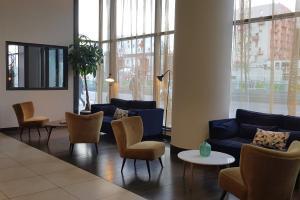 Coin salon dans l'établissement Appart'City Confort Paris Grande Bibliothèque
