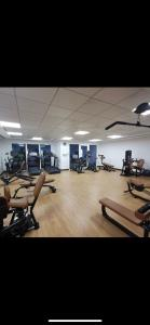 The fitness center and/or fitness facilities at Yas Island