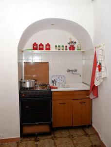 Cucina o angolo cottura di Dammuso Del Catarrato