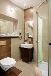 Ванная комната в Boutique Hotel's Sosnowiec