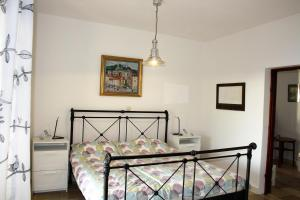 A bed or beds in a room at Villa Marijam