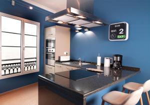 Köök või kööginurk majutusasutuses Ziggy Blues