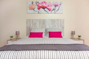 A bed or beds in a room at Villa Vista Mar