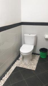 Salle de bains dans l'établissement Villa Ole