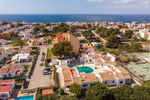 A bird's-eye view of Casas Menorquinas