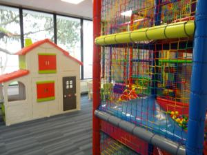 Children's play area at Apartament 402 Kołobrzeg Podczele