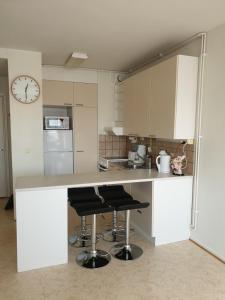 Majoituspaikan Apartments N & P keittiö tai keittotila