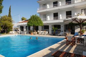 The swimming pool at or near Apollon Resort